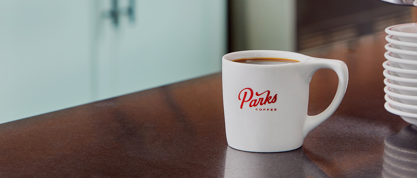 Parks Coffee Cup